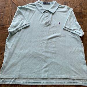 Polo Ralph Lauren pique polo shirt.